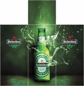Adsv Kit Geladeira Cerveja Heineken * Imagens Full Hd 3d