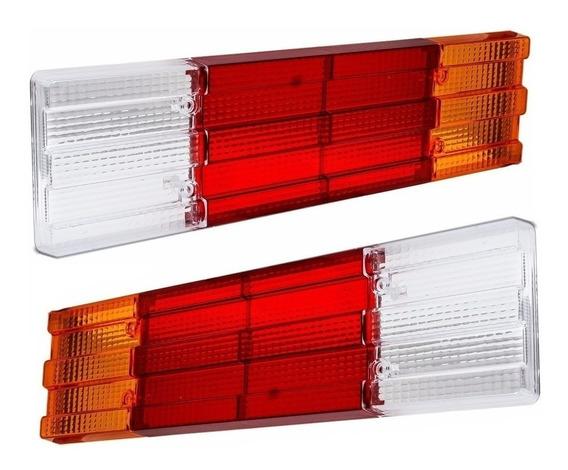 Lente Lanterna Traseira Mb 1113 710 709 1620 Acrilico - Par