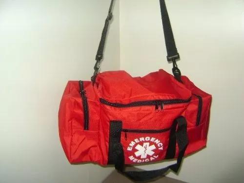 Bolso Tipo Rescate Rojo Sin Compartimiento