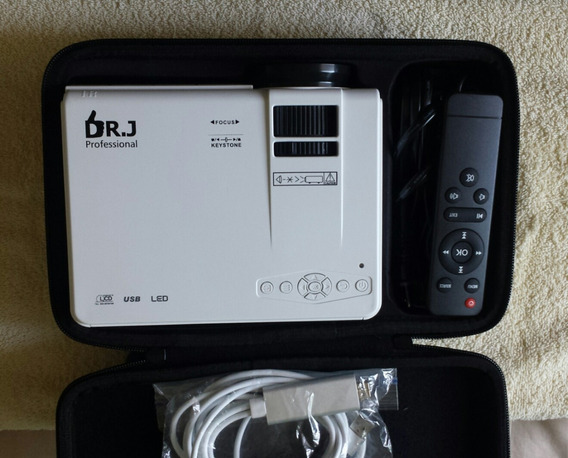 Mini Projector Video Profesional Dr.j Model Hi-04 40000h Vu