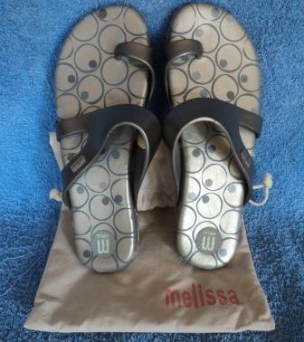 Melissa Quasar Revelation Ii Cinza C/ Bolinhas Nº35 (279)