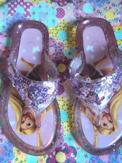 Chinelo Rapunzel Tam 21/22 - Disney
