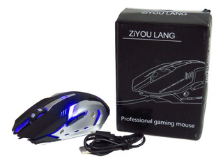 Mouse Gamer Wolf X7 Inalámbrico Recargable Gamer Nuevo