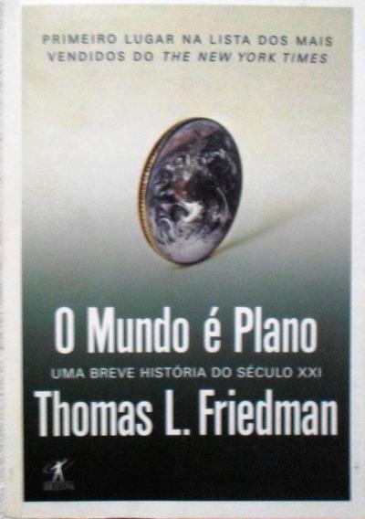 O Mundo É Plano Thomas L. Friedman Barato