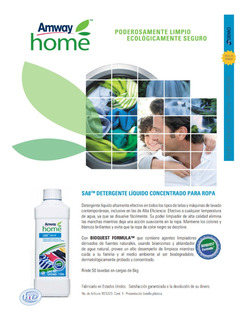 Jabón Liquido Sa8 Biodegradable Rinde X 5 Skip O Ariel