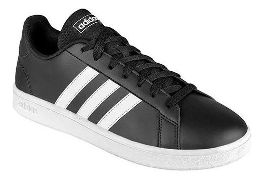 Tenis adidas Grand Court Base Del 25.5 Al 28.5 Ee7900
