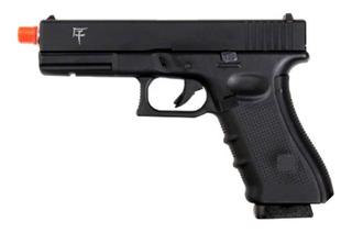 Pistola Airsoft Gbb Glock G17 Saigo Dual Mag Green Gás/co2