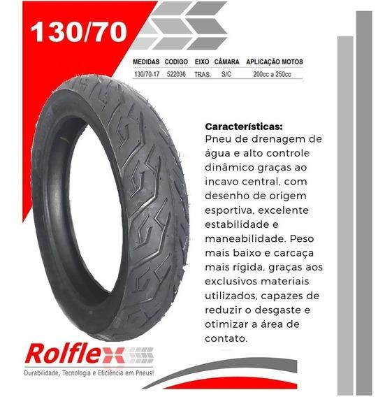 Pneu De Moto 130/70/17-traseiro Twister 250 Fazer 250