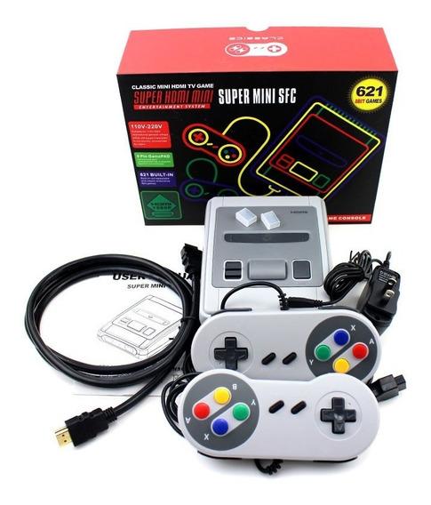 Hdmi/av Retro Clásico Consola 621 Juegos Tv Vídeojuego 8bits