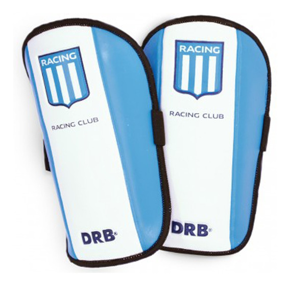 Protector Sportcom Futbol Racing Club Xs Niño Bl/ce