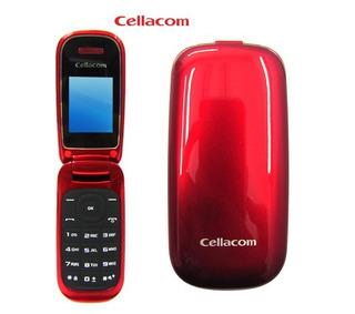 Celular Cellacom - Con Tapa - Camara - Radio - Mp3 - Libre