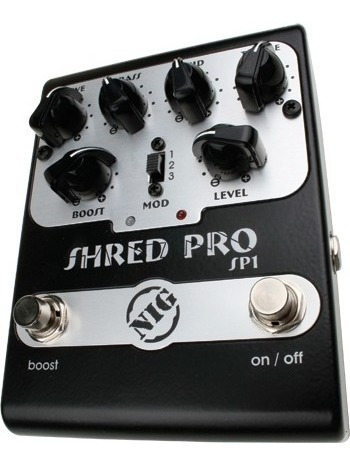 Pedal Nig Shred Pro Sp1 Distontion E Boost