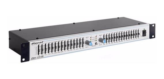 Equalizador Oneal 15 Bandas Estéreo Oge 1520 C/garantia