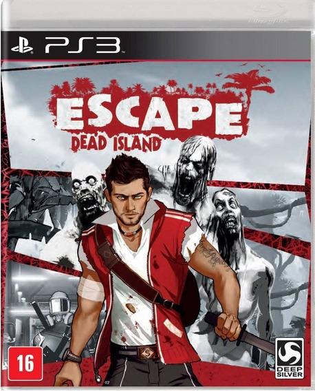 Jogo Escape Dead Island Playstation 3 Ps3 Mídia Física Game