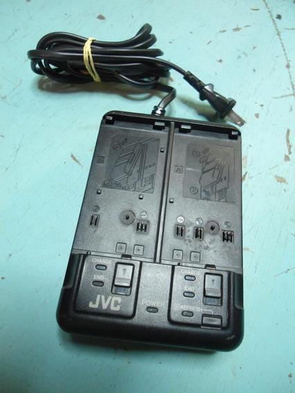 Carregador De Bateria Para Filmadora Jvc Aa-v35 - Não Liga