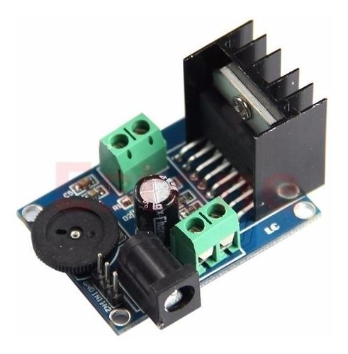 Modulo Amplificador De Audio Stereo Tda7297 15+15w 4 O 8 Ohm
