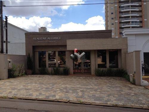 Imagem 1 de 10 de Salão Para Alugar, 140 M² Por R$ 8.000/mês - Centro - Ribeirão Preto/sp - Sl0121