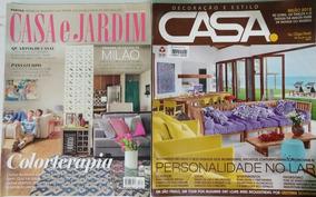 Revistas Casa E Jardim - Casa - 2 Edições