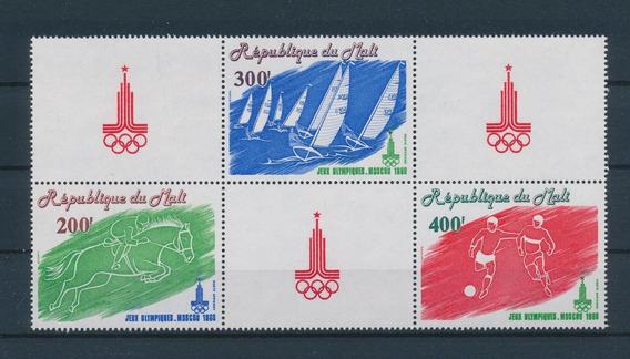 República De Mali 1980 Juegos Olimpicos Moscu Mint