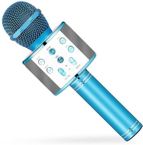 Micrófono De Karaoke, 4 En 1 Reproductor Altavoz, Bluetooth