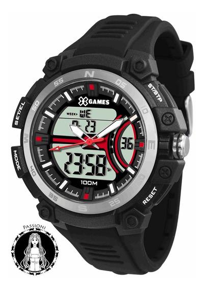 Relógio Xgames Anadigi - Xmppa254 Bxpx C/ Nf E Garantia O