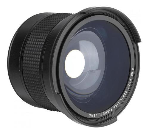 Imagem 1 de 9 de Lente Fisheye De 58mm, 58mm 0.35x Lente Super Grande Angular