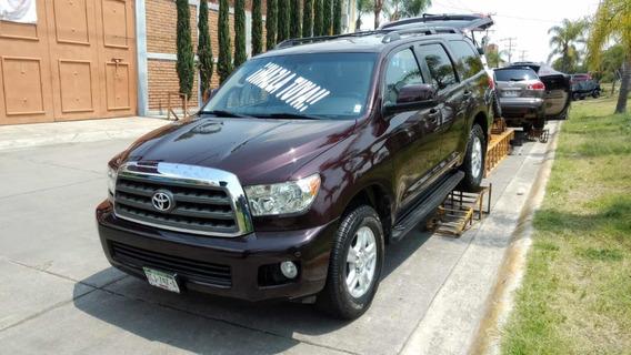 Toyota Sequoia Sr5 Aa R-18 Piel Premium At 2012