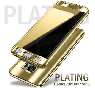 Capa Case 360 Samsung S8 Plus G955 Dourado Protecao Total