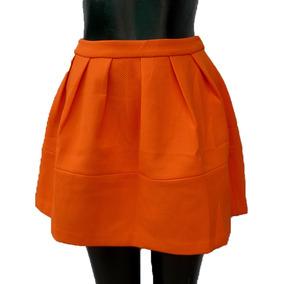 6a9a173de Faldas de Mujer Corta Naranja en Mercado Libre México