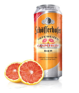 Pack X6 Cerveza Schofferhofer Grapefruit Pomelo Lata 500 Ml