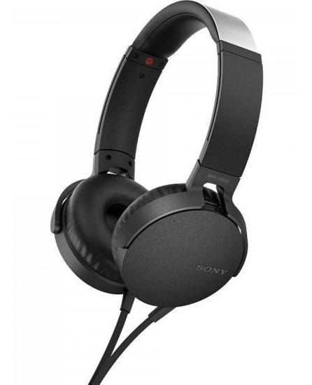 Fone De Ouvido Com Microfone Mdr-xb550ap/b Preto Sony