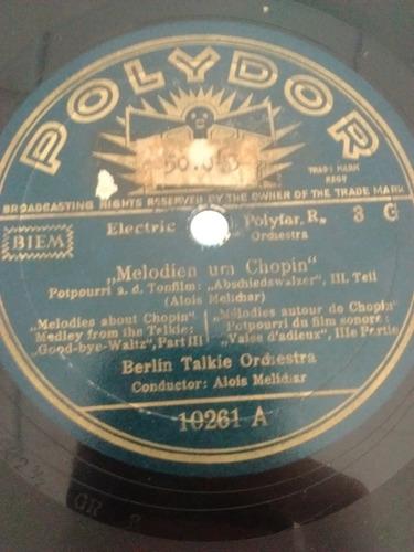 Berlin Talkie Orchestra Disco Pasta Polydor 10261 C23
