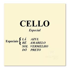 Jogo De Corda Violoncelo Mauro Calixto Especial Cello