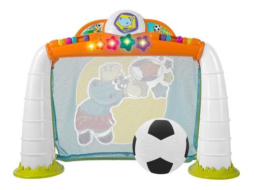 Arco Futbol Infantil Chicco Didáctico Luz Sonido Pelota 5225