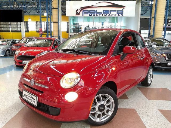 Fiat 500 Cult 1.4 Flex Manual 2012 Completo Novíssimo!