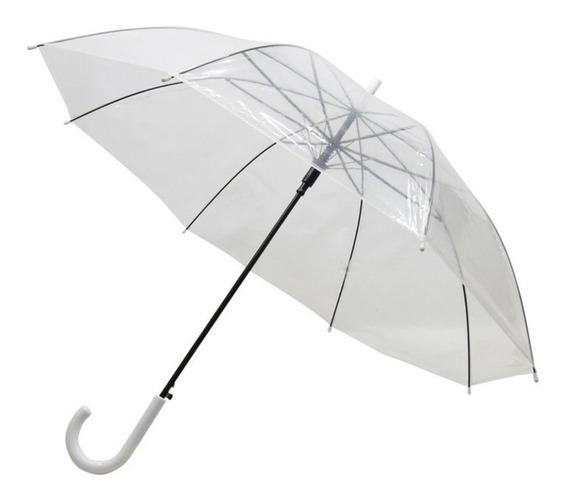 Guarda Chuva Transparente Adulto Sombrinha
