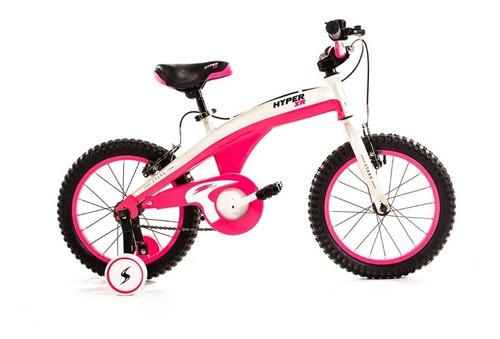 Imagen 1 de 8 de Bicicleta Stark Hyper Xr Rodado 16 Niño Niña Kids Rueditas