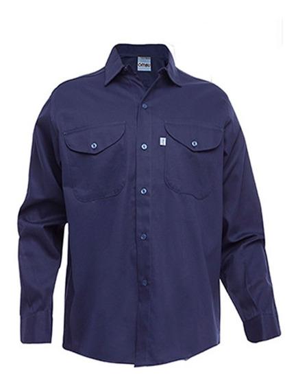 Camisa De Trabajo X 2 Un + Pantalon De Trabajo Ombu X 6 Un