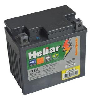 Bateria Heliar Htz5 125/150 Cg Titan Biz Nxr Bros Fan Xre3