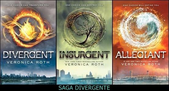 Livro Trilogia Divergente