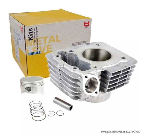 Kit Cilindro C/pistao E Aneis Cb 300 / Xre 300 Metal Leve