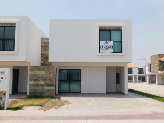 Casa En Renta Fracc. Catara Con Alberca