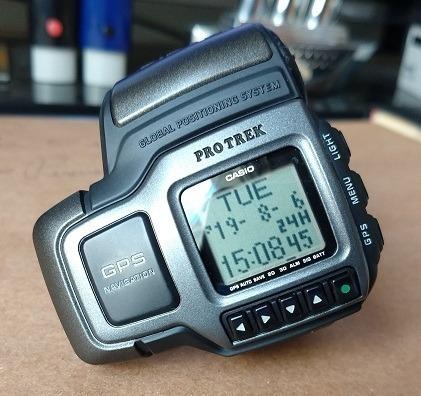 Relógio Casio Protrek Gps, Digital, Em Condição Impecável!!!