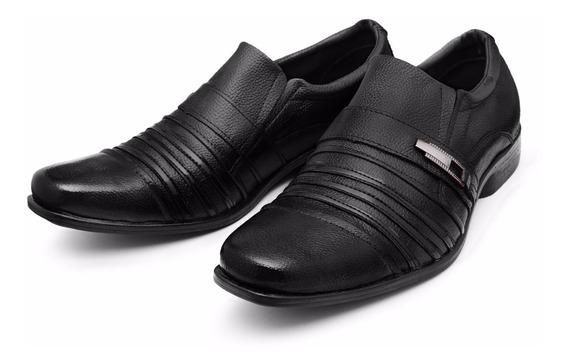 Sapatênis Masculino Sapato Casual Social Couro Legítmo Luxo