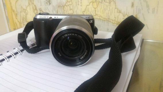 Câmera Sony Alpha Nex-c3 Com 2 Baterias, Carregador Original