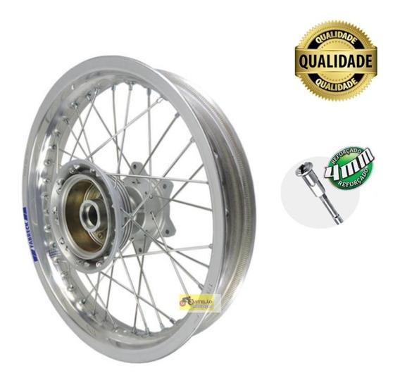 Aro Roda Montada Nxr Bros 125-150-160 Aro Aluminio Polido