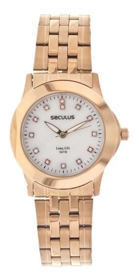 Relógio Seculus Feminino 24779lpspra3
