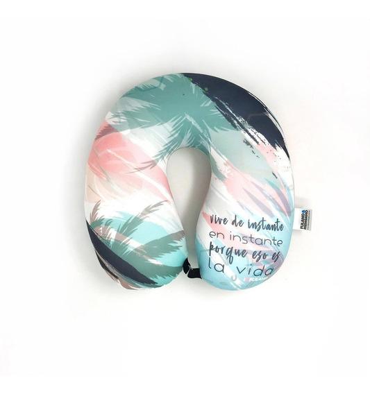Almohada Cuello De Viaje Cervical Microperlas Diseño