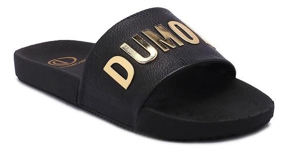 Slide Dumond New Mini Tumbled Preto 4113452/3