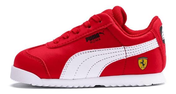 Tenis Puma Bebe Scuderia Ferrari Roma Casual Original